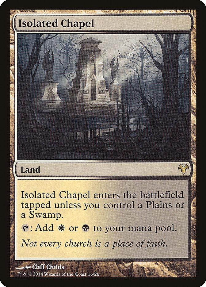 Carta Capela Isolada/Isolated Chapel de Magic the Gathering