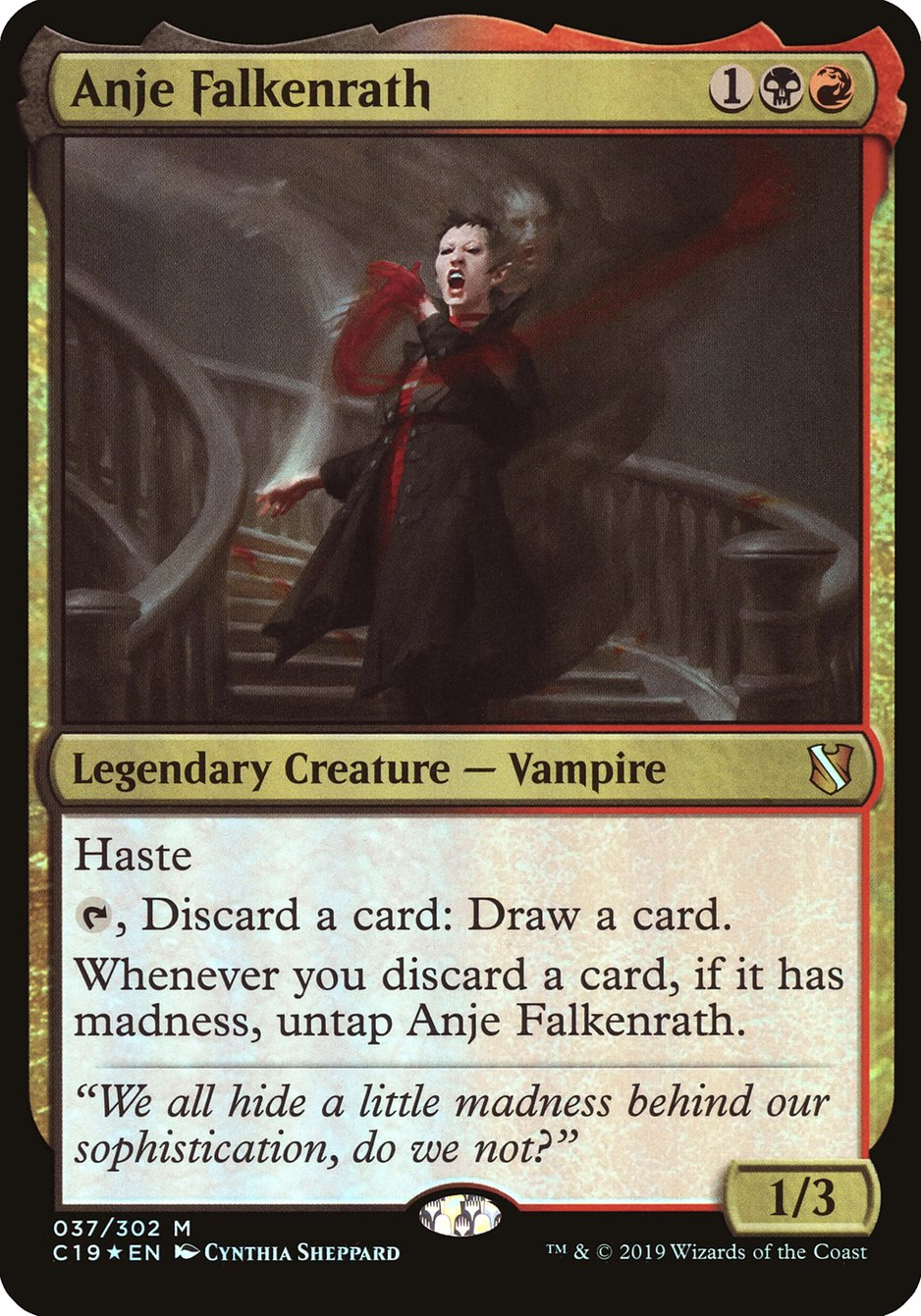 Carta Anje Falkenrath/Anje Falkenrath de Magic the Gathering