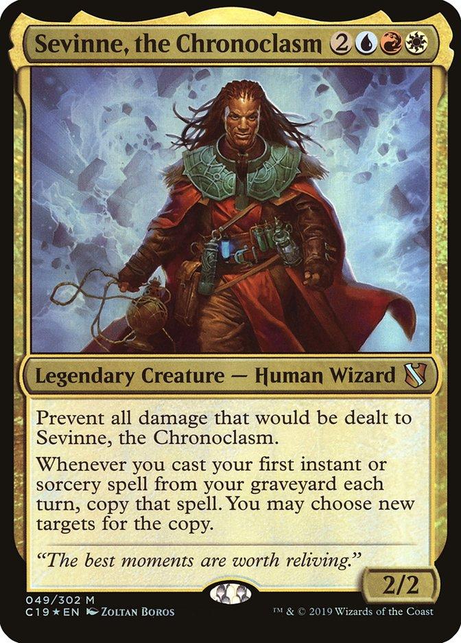Carta Sevinne, o Cronoclasma/Sevinne, the Chronoclasm de Magic the Gathering