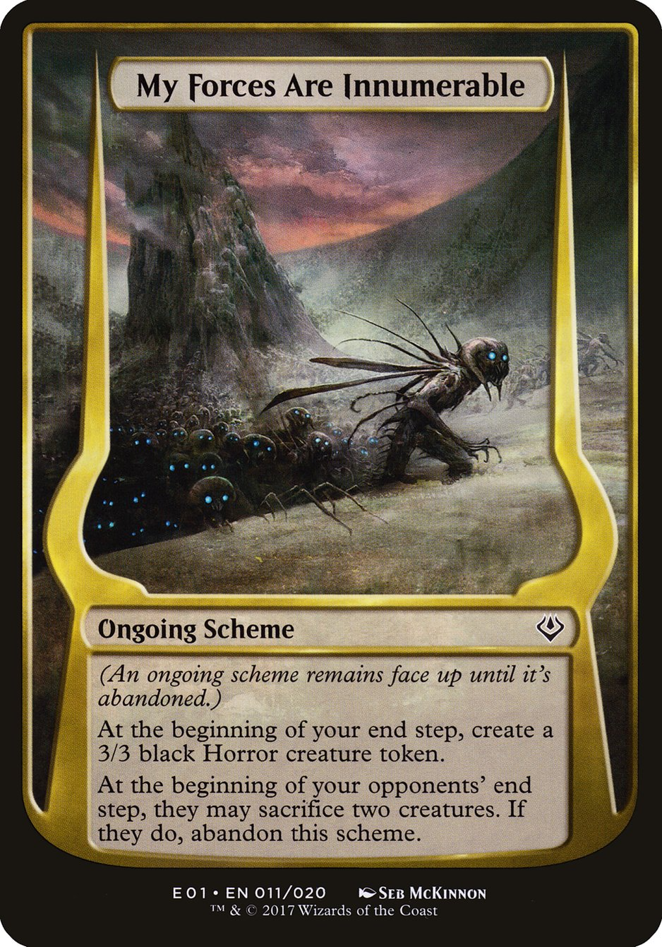 Carta My Forces Are Innumerable/My Forces Are Innumerable de Magic the Gathering