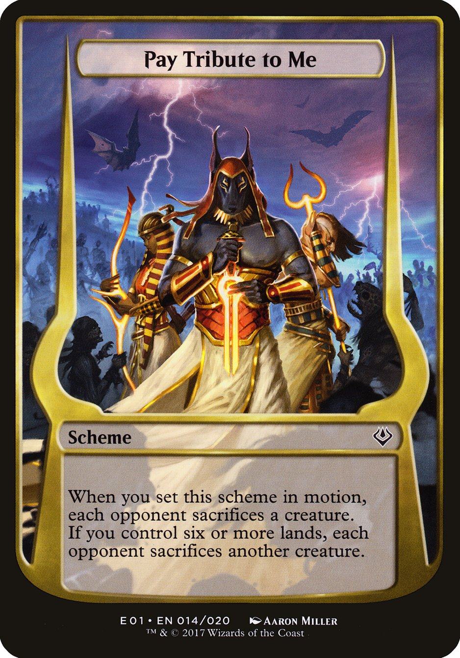 Carta Pay Tribute to Me/Pay Tribute to Me de Magic the Gathering
