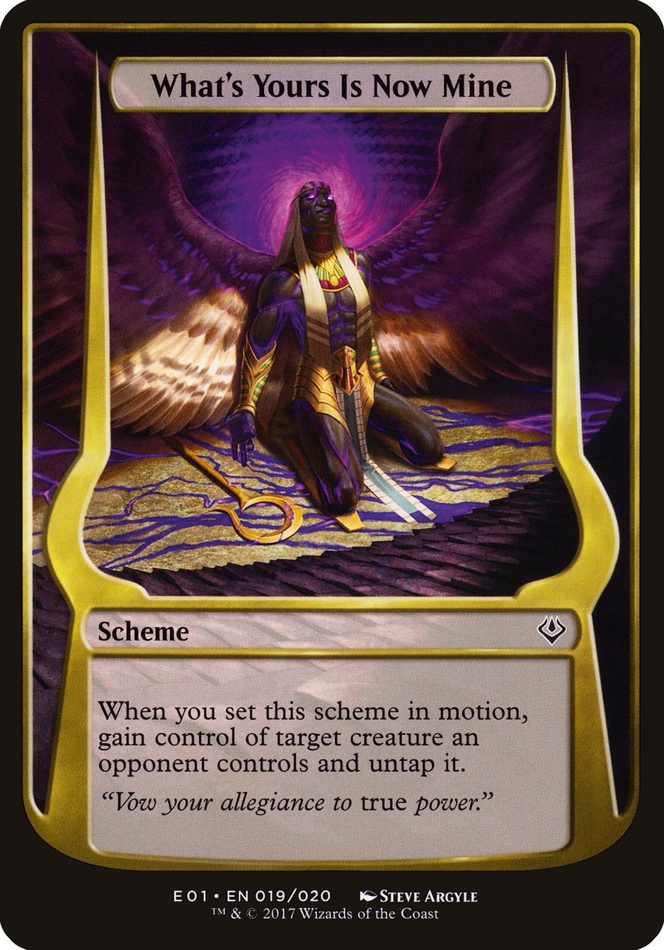 Carta What's Yours Is Now Mine/What's Yours Is Now Mine de Magic the Gathering