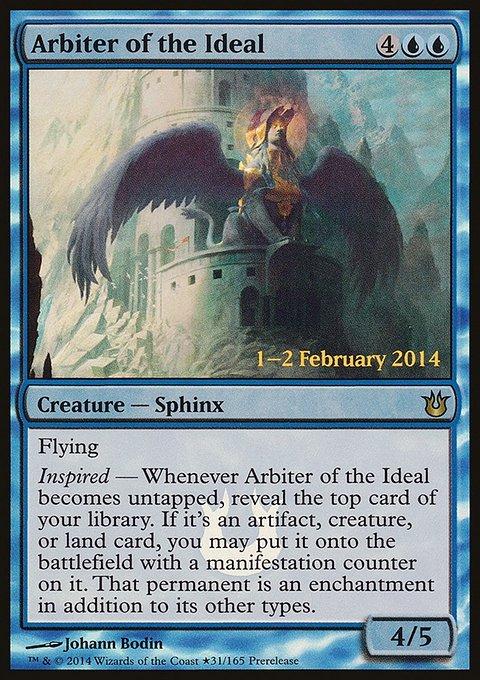 Carta Árbitra do Ideal/Arbiter of the Ideal de Magic the Gathering
