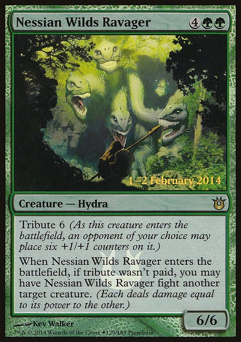Carta Devastador das Selvas Nessianas/Nessian Wilds Ravager de Magic the Gathering