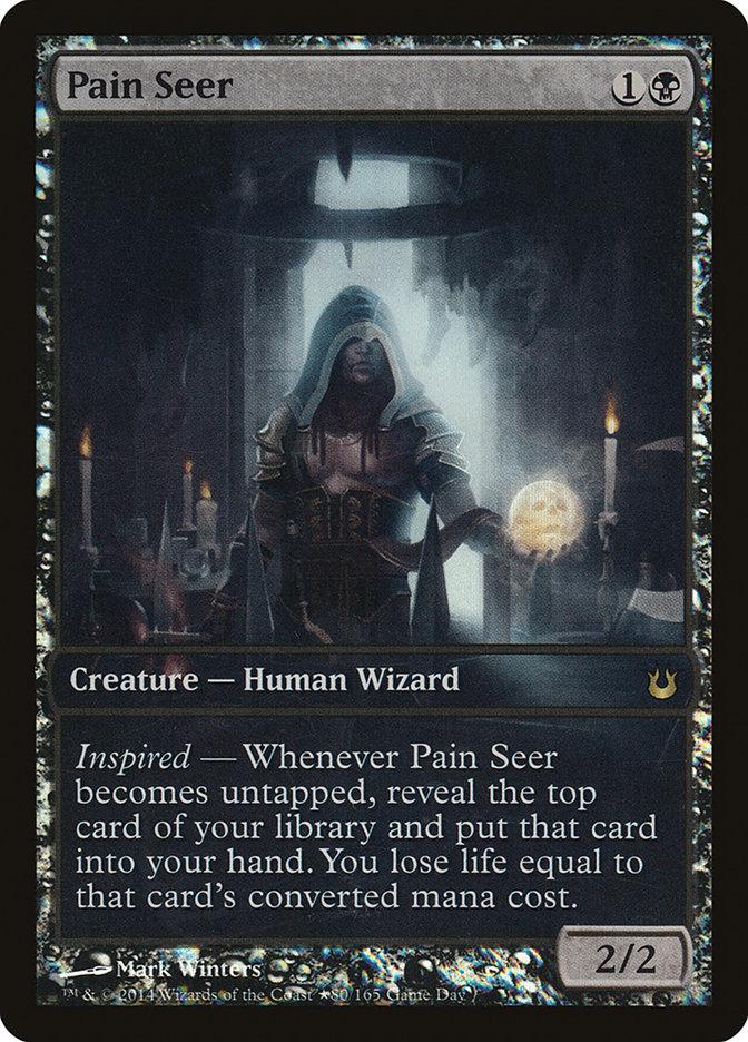 Carta Vidente da Dor/Pain Seer de Magic the Gathering