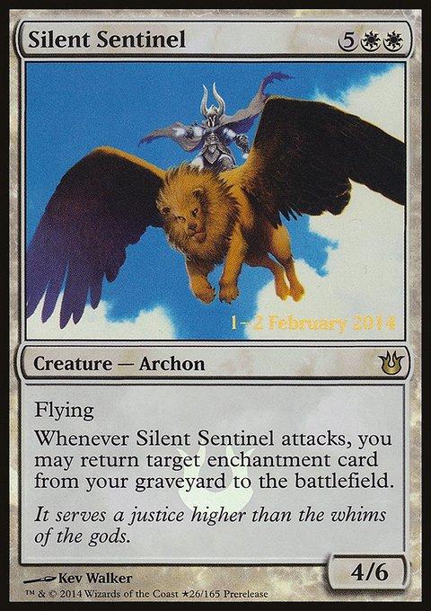 Carta Sentinela Silenciosa/Silent Sentinel de Magic the Gathering
