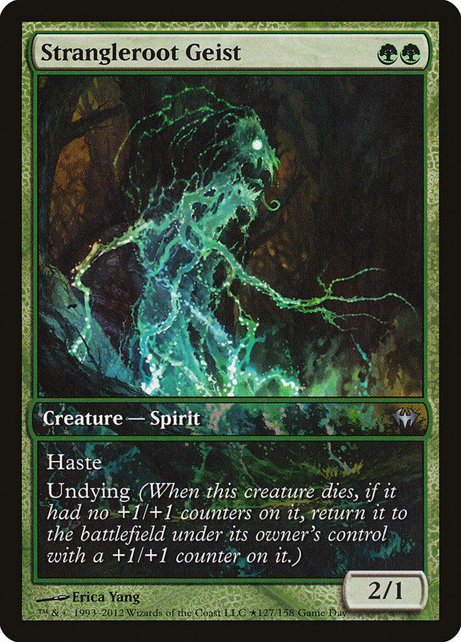 Carta Geist da Raiz Estrangulante/Strangleroot Geist de Magic the Gathering