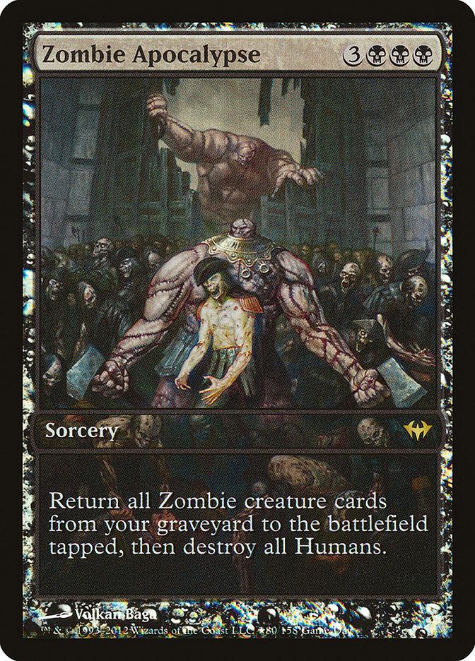 Carta Apocalipse dos Zumbis/Zombie Apocalypse de Magic the Gathering