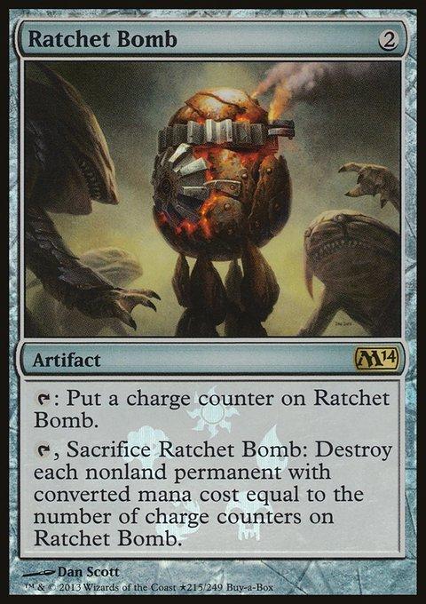 Carta Bomba de Catraca/Ratchet Bomb de Magic the Gathering