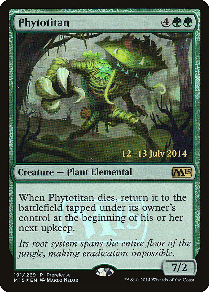 Carta Fitotitã/Phytotitan de Magic the Gathering