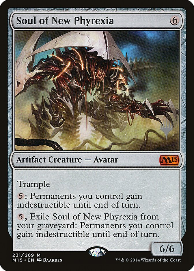 Carta /Soul of New Phyrexia de Magic the Gathering