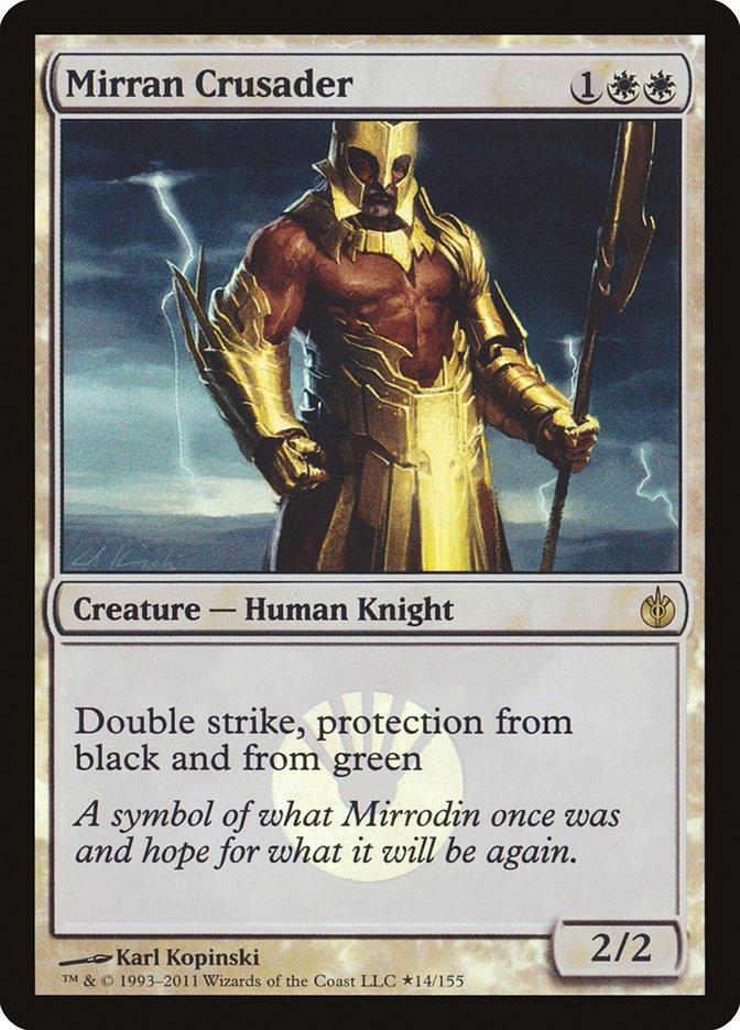 Carta Cruzado Mirraniano/Mirran Crusader de Magic the Gathering
