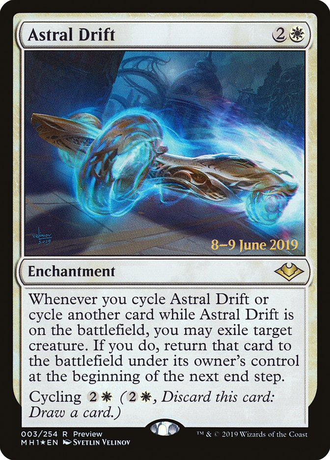 Carta Deriva Astral/Astral Drift de Magic the Gathering