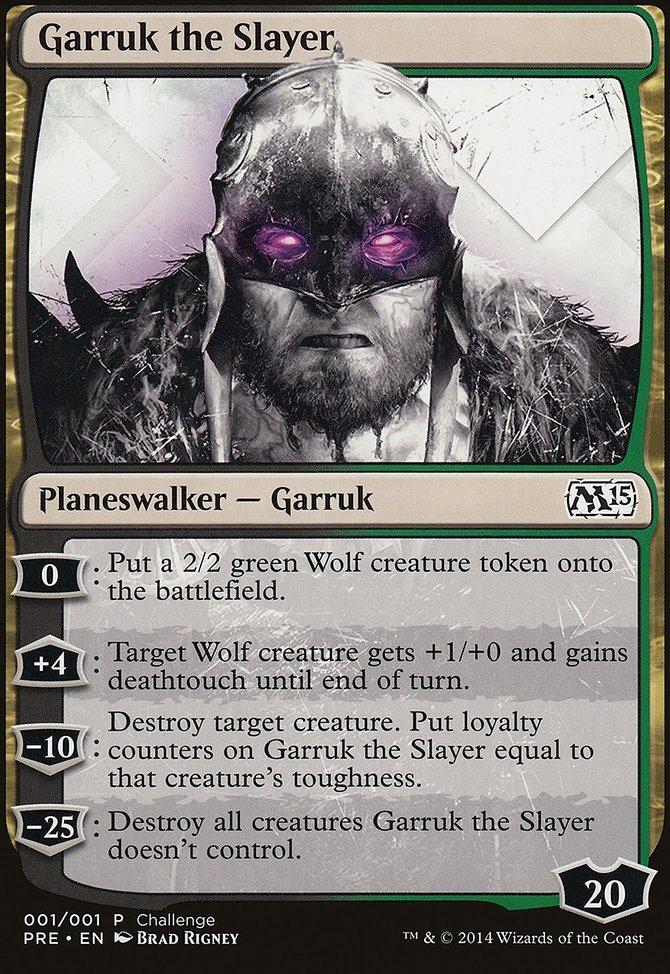 Carta Garruk, o matador/Garruk the Slayer de Magic the Gathering