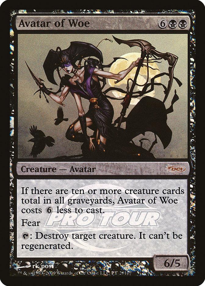 Carta Avatar da Mágoa/Avatar of Woe de Magic the Gathering