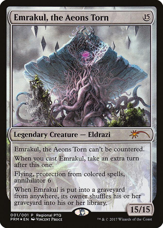 Carta /Emrakul, the Aeons Torn de Magic the Gathering