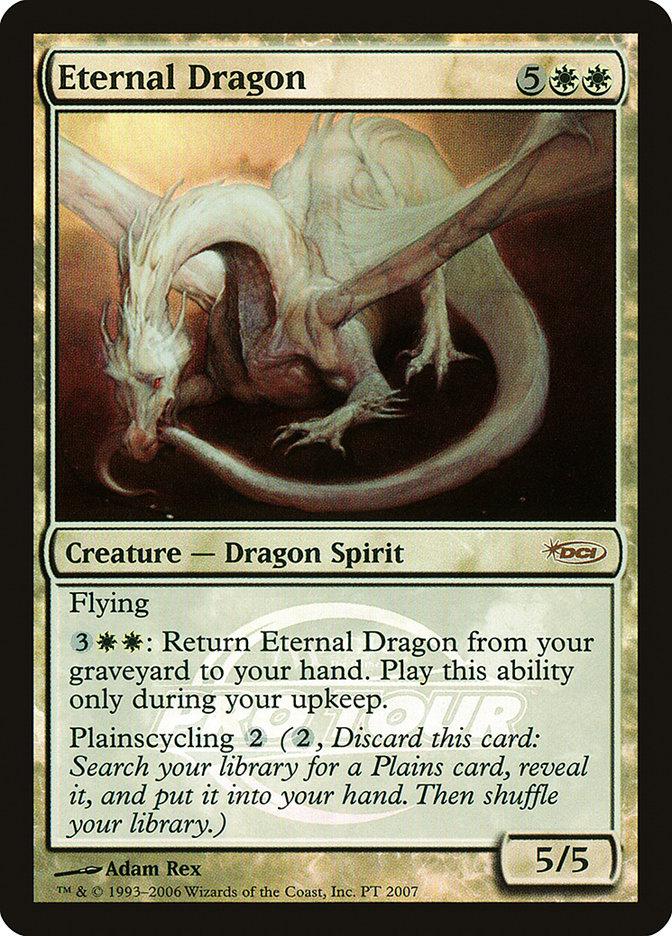 Carta Dragão Perpétuo/Eternal Dragon de Magic the Gathering