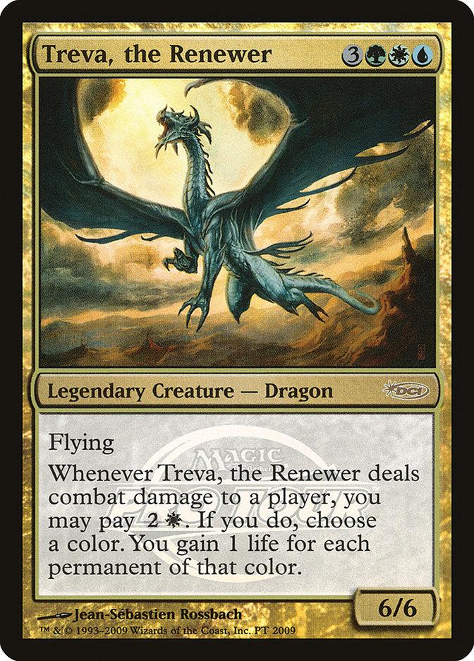 Carta Treva, a Renovadora/Treva, the Renewer de Magic the Gathering