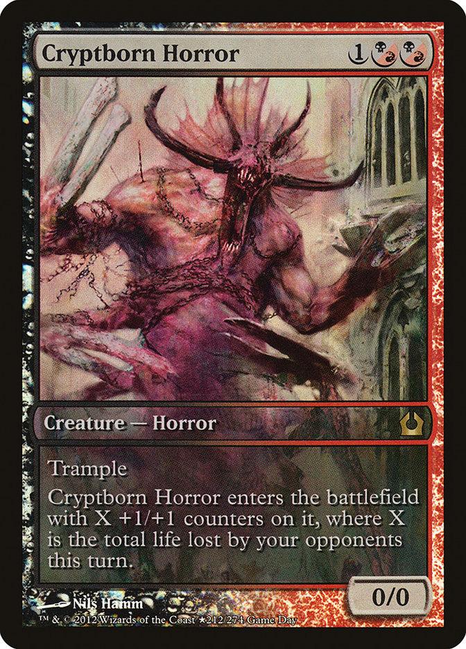 Carta Horror Criptonato/Cryptborn Horror de Magic the Gathering