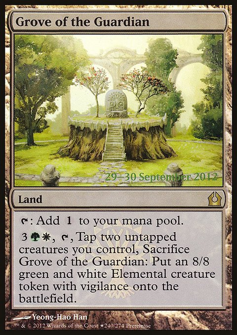 Carta Bosque do Guardião/Grove of the Guardian de Magic the Gathering