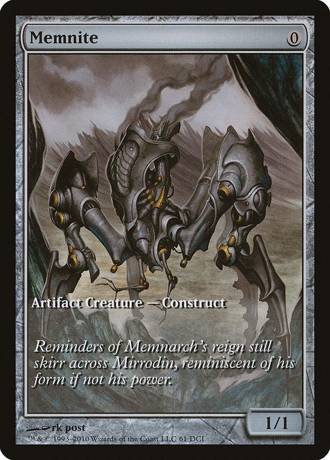 Carta Memnito/Memnite de Magic the Gathering