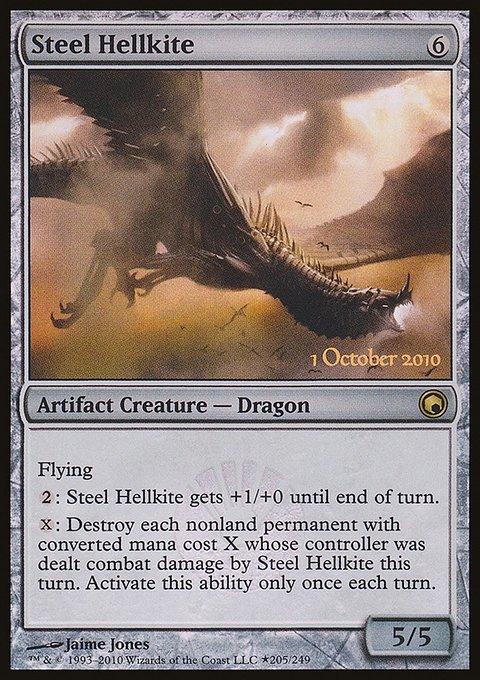Carta Dragão Avérneo de Aço/Steel Hellkite de Magic the Gathering