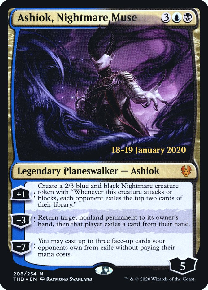 Ashiok, Nightmare Muse
