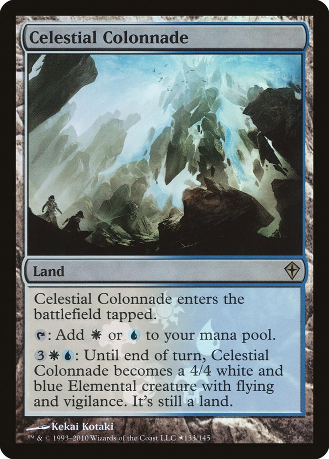 Carta Colunata Celestial/Celestial Colonnade de Magic the Gathering