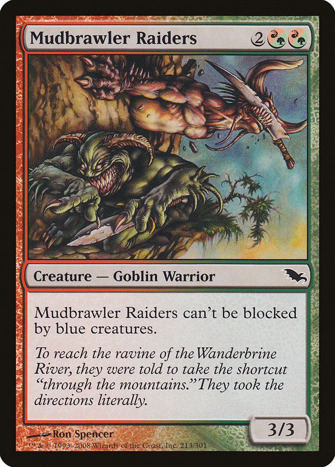 Carta Salteadores de Rixalama/Mudbrawler Raiders de Magic the Gathering
