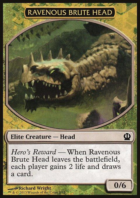 Carta /Ravenous Brute Head de Magic the Gathering