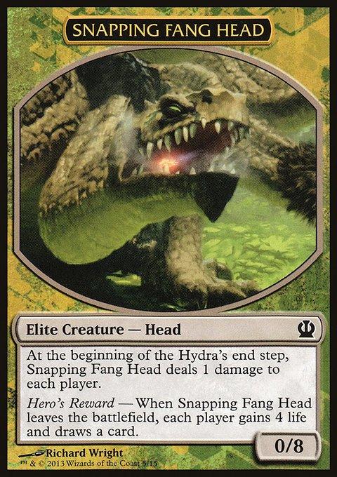 Carta /Snapping Fang Head de Magic the Gathering