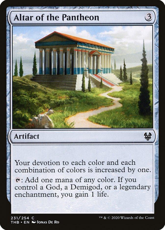 Carta Altar do Panteão/Altar of the Pantheon de Magic the Gathering
