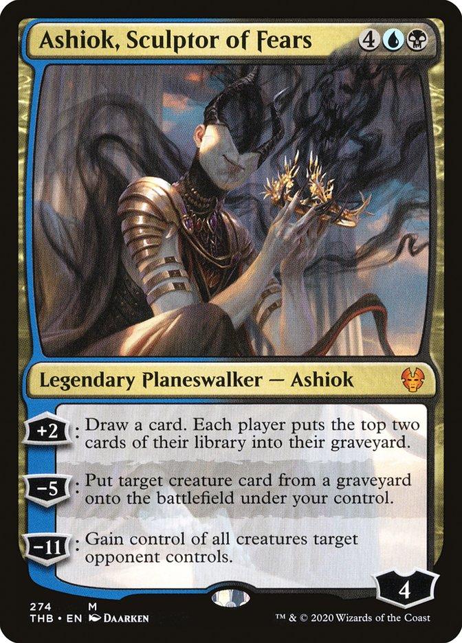Carta Ashiok, Escultor de Medos/Ashiok, Sculptor of Fears de Magic the Gathering