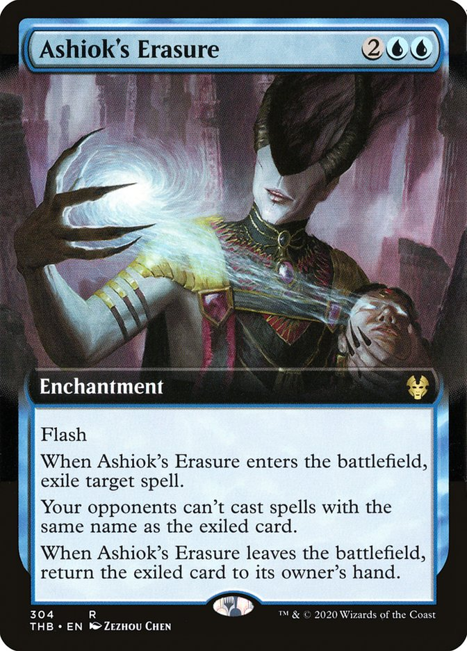 Carta Apagamento de Ashiok/Ashiok's Erasure de Magic the Gathering