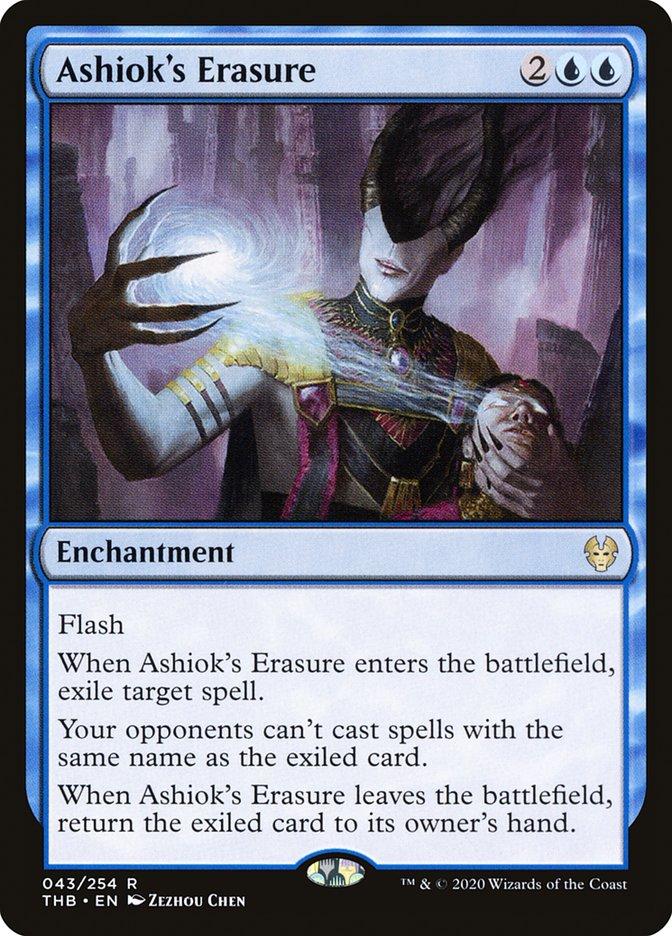 Carta Apagamento de Ashiok/Ashiok's Erasure de Magic the Gathering