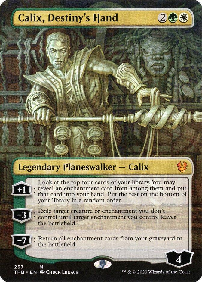 Carta Calix, a Mão do Destino/Calix, Destiny's Hand de Magic the Gathering