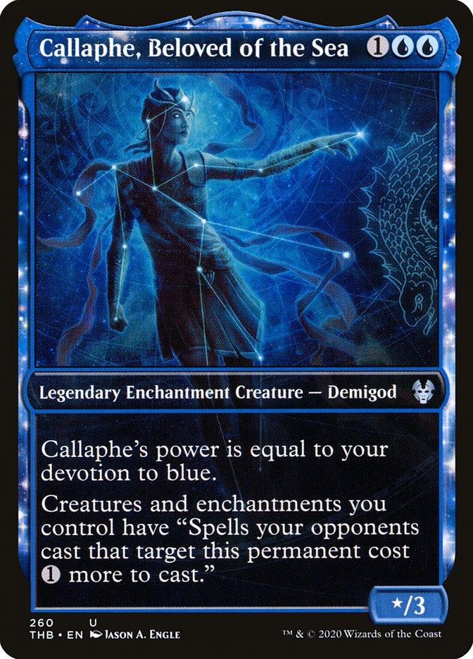 Carta Calafe, Amada do Mar/Callaphe, Beloved of the Sea de Magic the Gathering