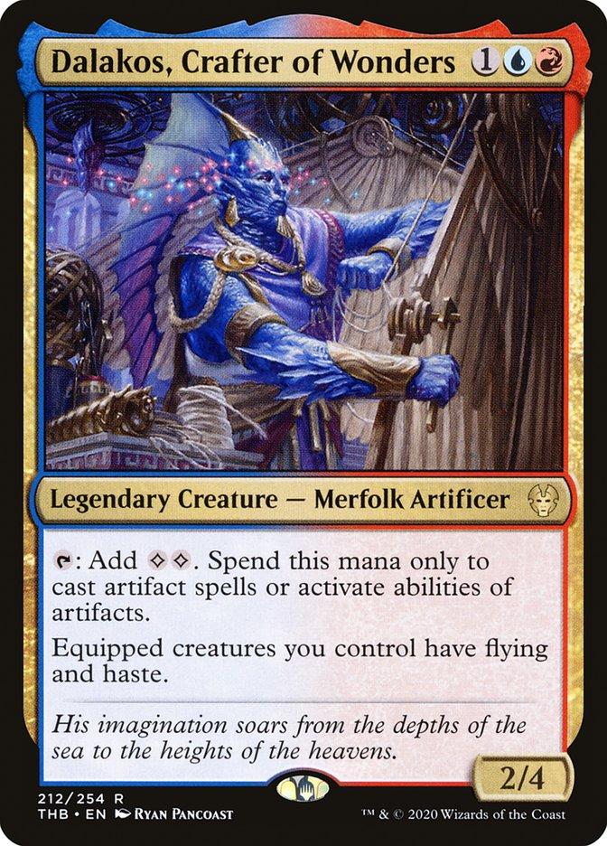 Carta Dálaco, Construtor de Maravilhas/Dalakos, Crafter of Wonders de Magic the Gathering