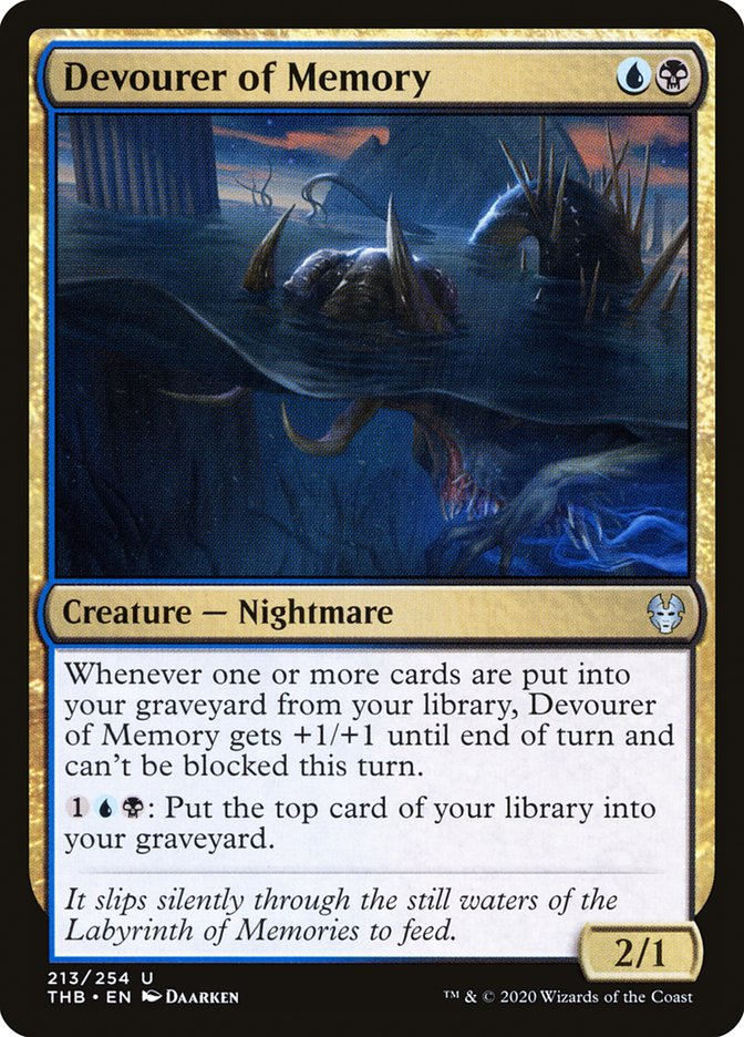 Carta Devorador da Memória/Devourer of Memory de Magic the Gathering