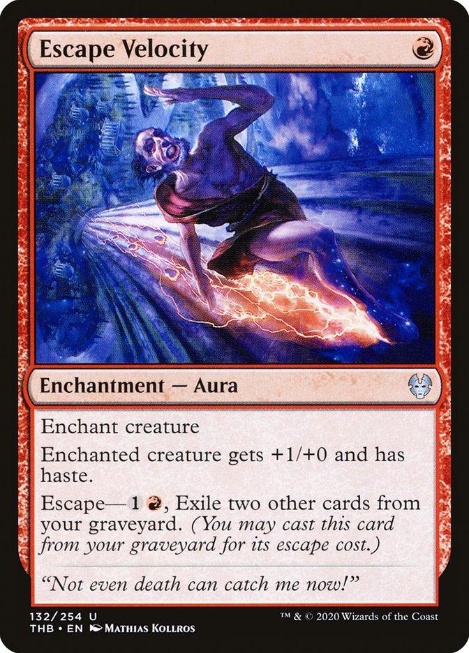 Carta Velocidade de Fuga/Escape Velocity de Magic the Gathering