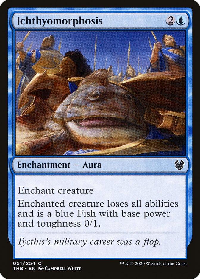 Carta Ictiomorfose/Ichthyomorphosis de Magic the Gathering