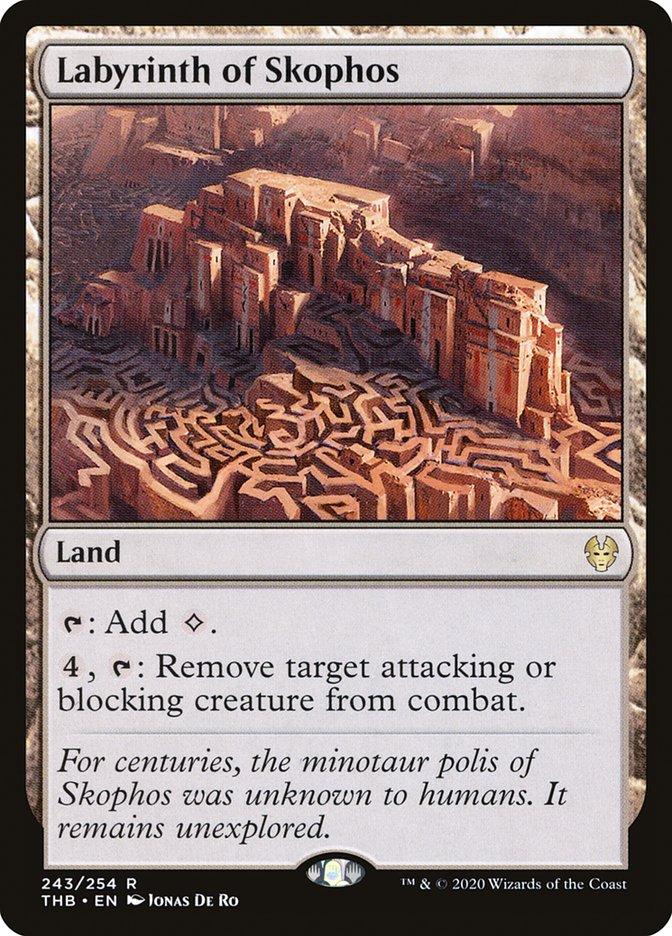 Carta Labirinto de Escofo/Labyrinth of Skophos de Magic the Gathering