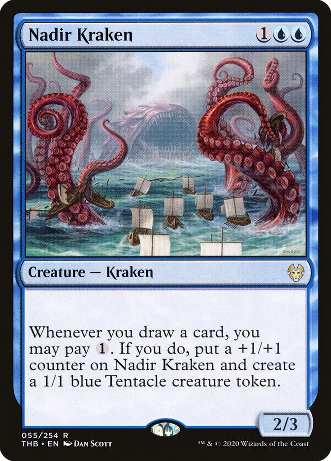 Carta Kraken do Nadir/Nadir Kraken de Magic the Gathering