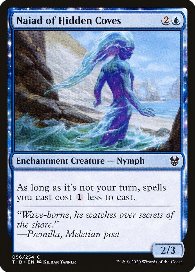 Carta Náiade das Enseadas Ocultas/Naiad of Hidden Coves de Magic the Gathering