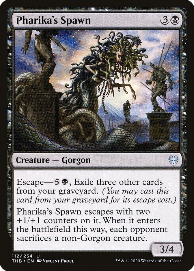 Carta Prole de Fárica/Pharika's Spawn de Magic the Gathering