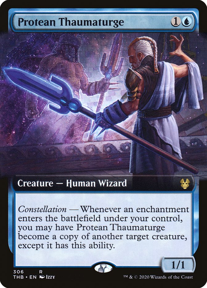 Carta Taumaturgo Multifacetado/Protean Thaumaturge de Magic the Gathering