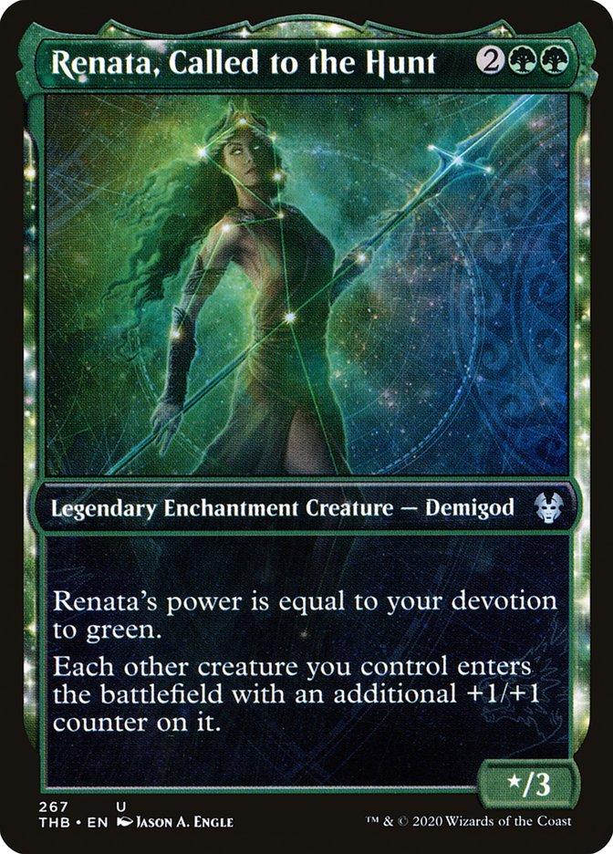 Carta Renata, a Chamada à Caça/Renata, Called to the Hunt de Magic the Gathering