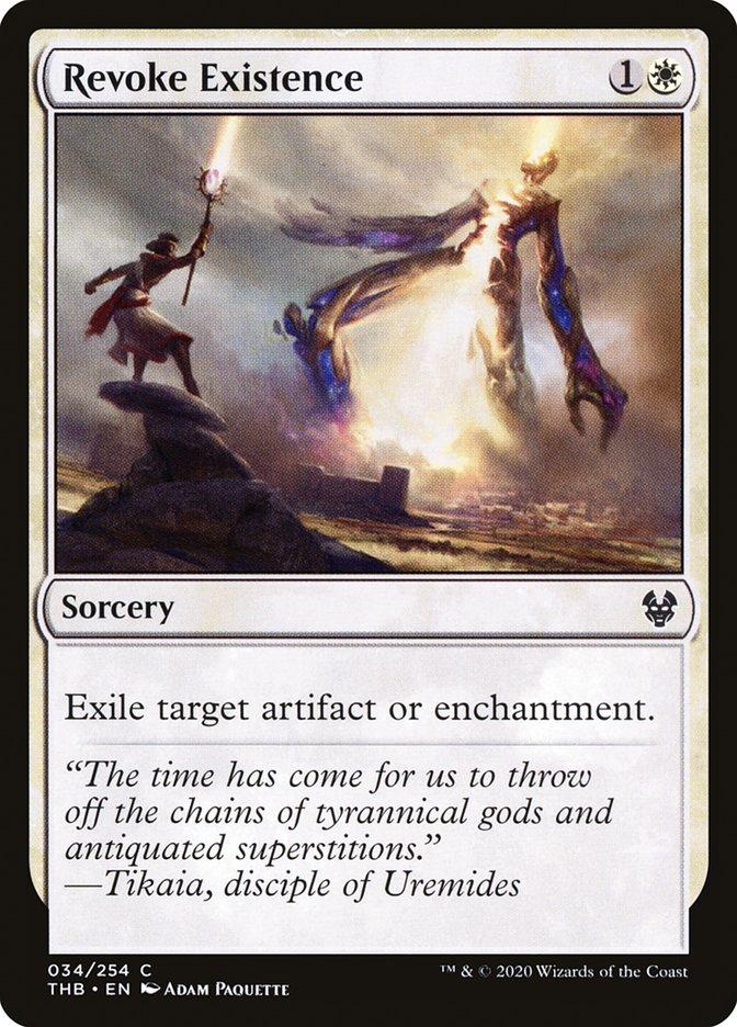 Carta Revogar Existência/Revoke Existence de Magic the Gathering