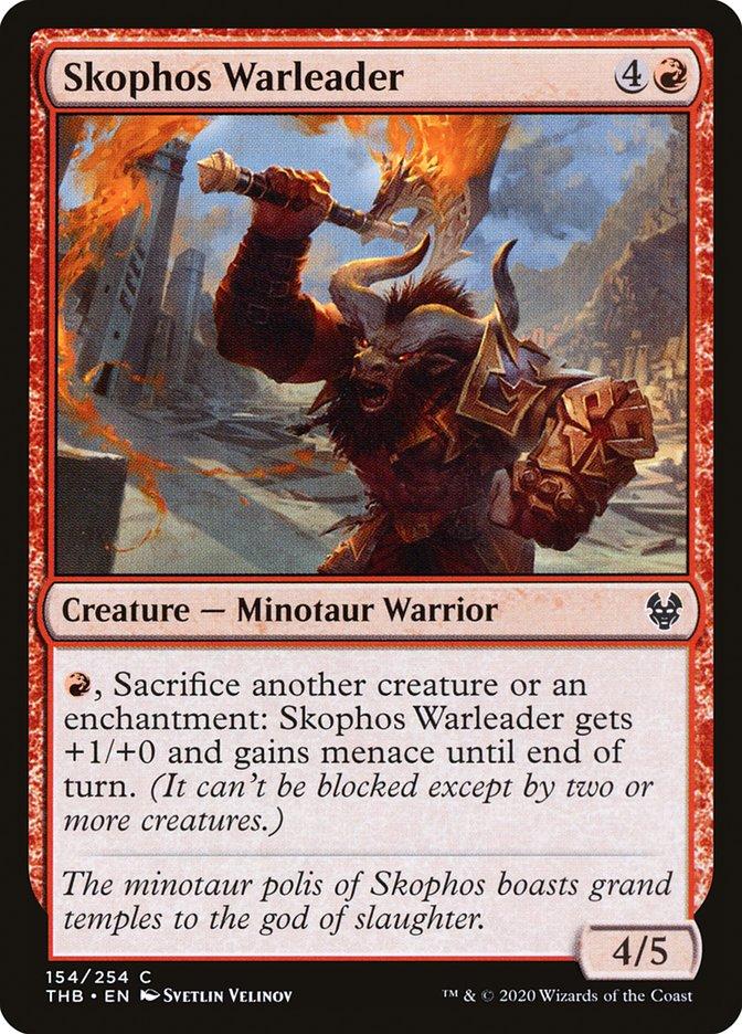 Carta Líder de Guerra de Escofo/Skophos Warleader de Magic the Gathering