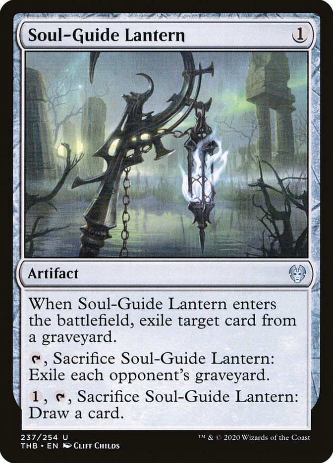 Carta Lanterna Guia-almas/Soul-Guide Lantern de Magic the Gathering